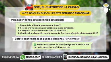 El chatbot Boti identifica 3.000 casos de Covid-19 en Buenos Aires.