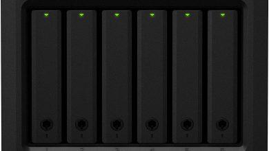 Synology DS620slim: Mini NAS con 6 bahías para discos y un potente hardware