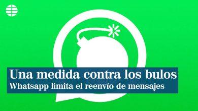WhatsApp limita reenvío de mensajes sobre coronavirus