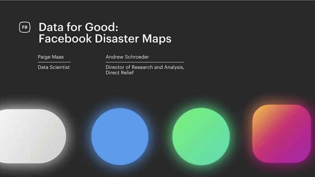 Facebook y su Data for Good