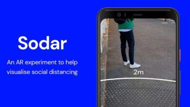 Google lanza Sodar: herramienta de distancia social de realidad aumentada