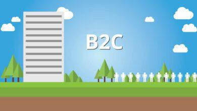 Tasas de respuesta B2C en las PYMES que trituran empresas