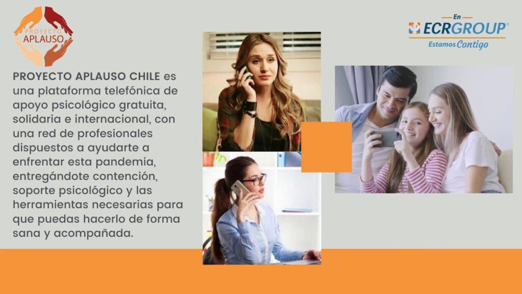 Chile: Proyecto Aplauso, contact center de asistencia gratuita en salud mental