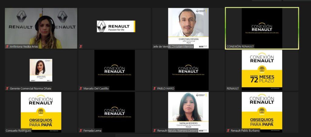 Ecuador: Feria Virtual Renault