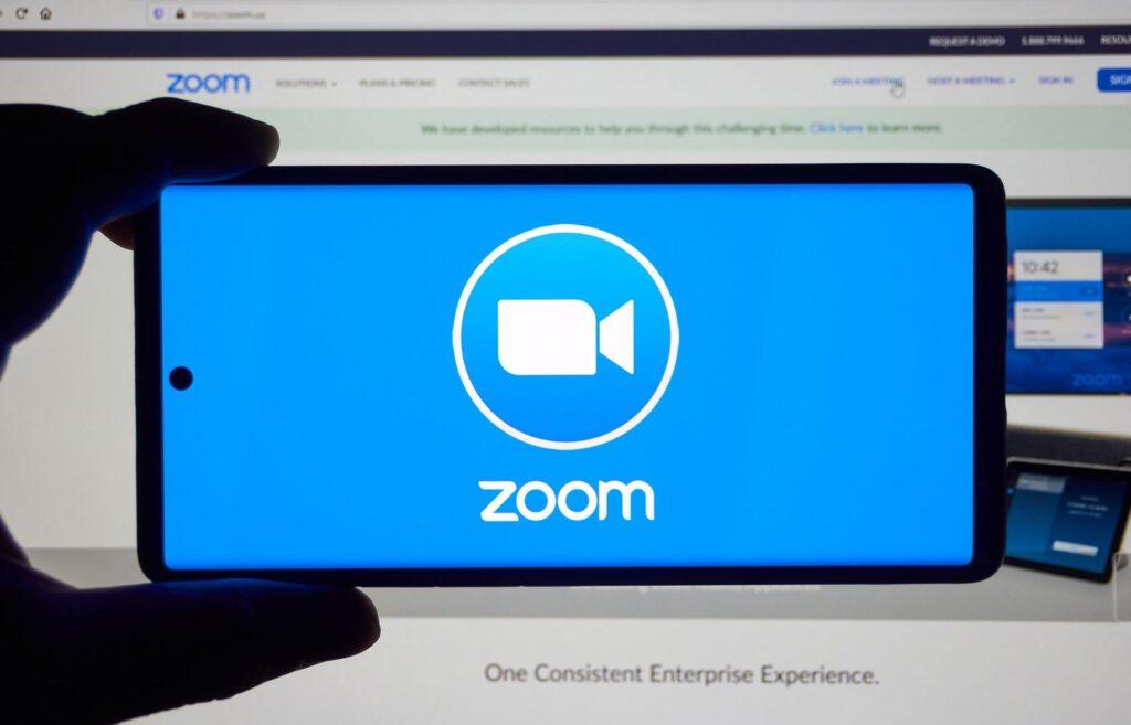 Zoom presenta fallas