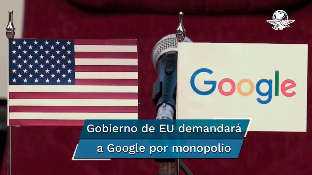 Gobierno Estadounidense demanda a Google