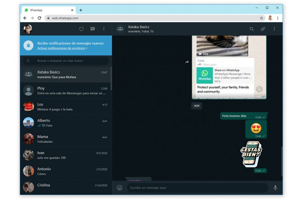 Whatsapp prepara el lanzamiento de una nueva función para su versión de escritorio