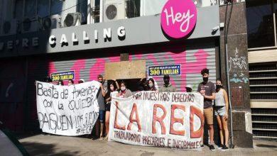 Trabajadores se movilizan por despidos encubiertos en el call center Hey Latam