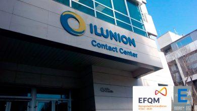 Contact center español Ilunion certificado con el Sello EFQM 400+