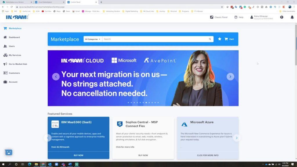 WS e Ingram Micro Cloud firman acuerdo global