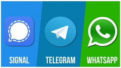 Eset analiza a WhatsApp, Telegram y Signal