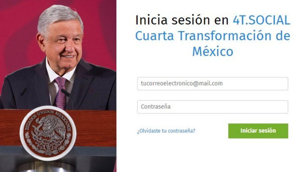 México: 4T.Social la red social impulsada por el presidente mexicano