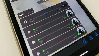Cómo acelerar los audios de WhatsApp
