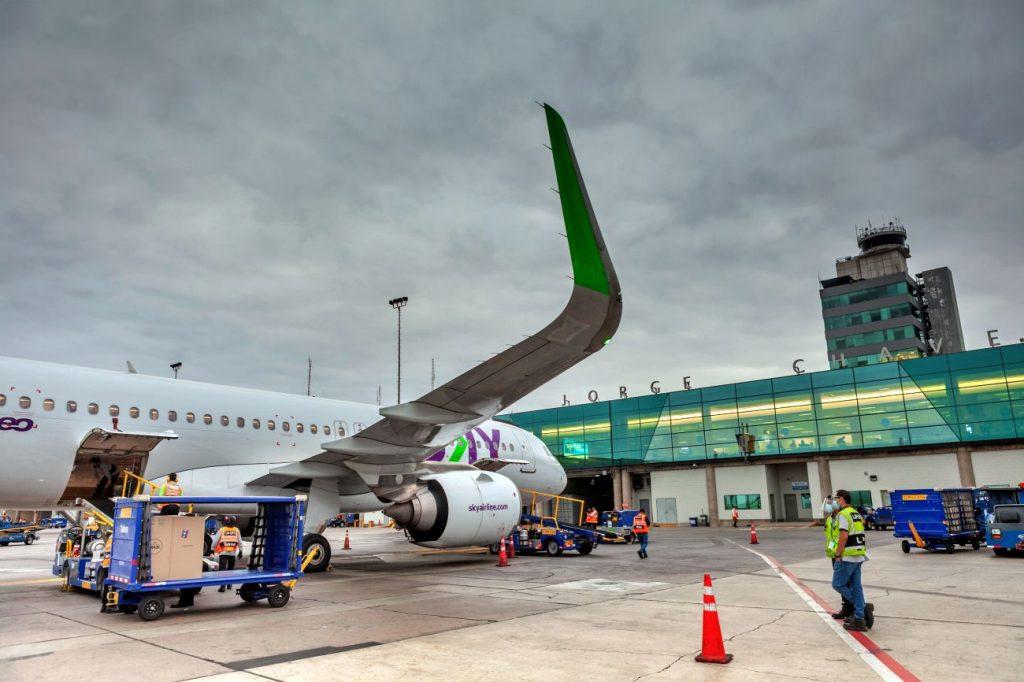 SKY suspende temporalmente sus vuelos hacia Arequipa