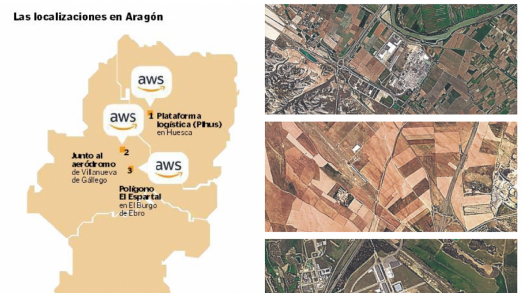 AWS abrirá Centros de Datos en Aragón en 2022