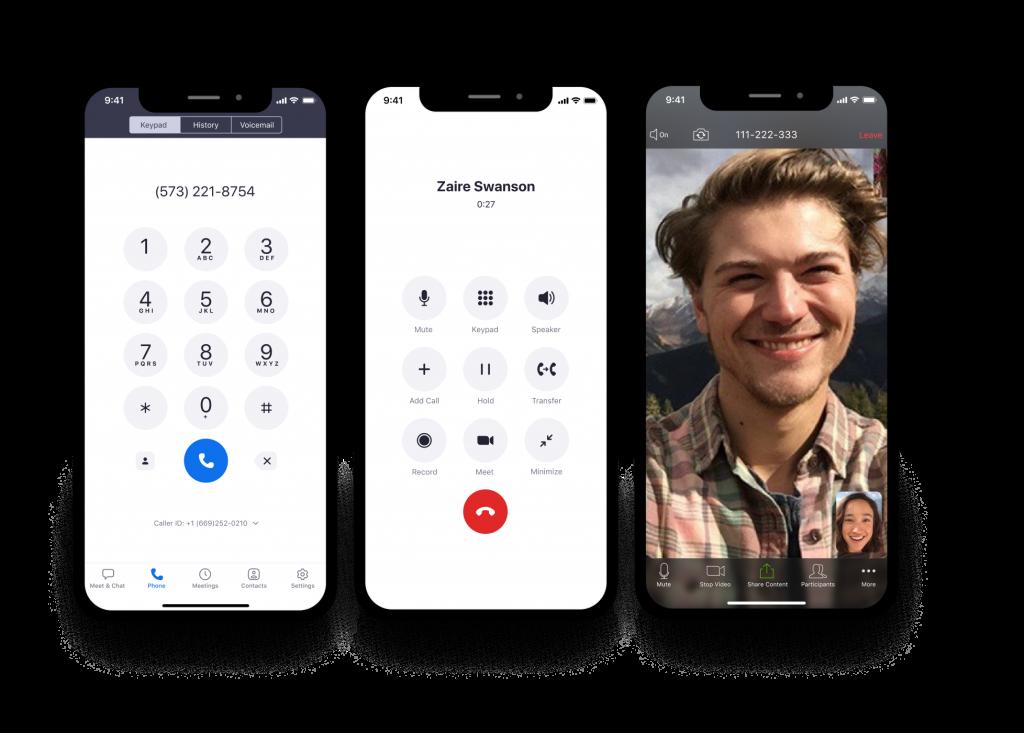 La rápida e improbable evolución del teléfono Zoom