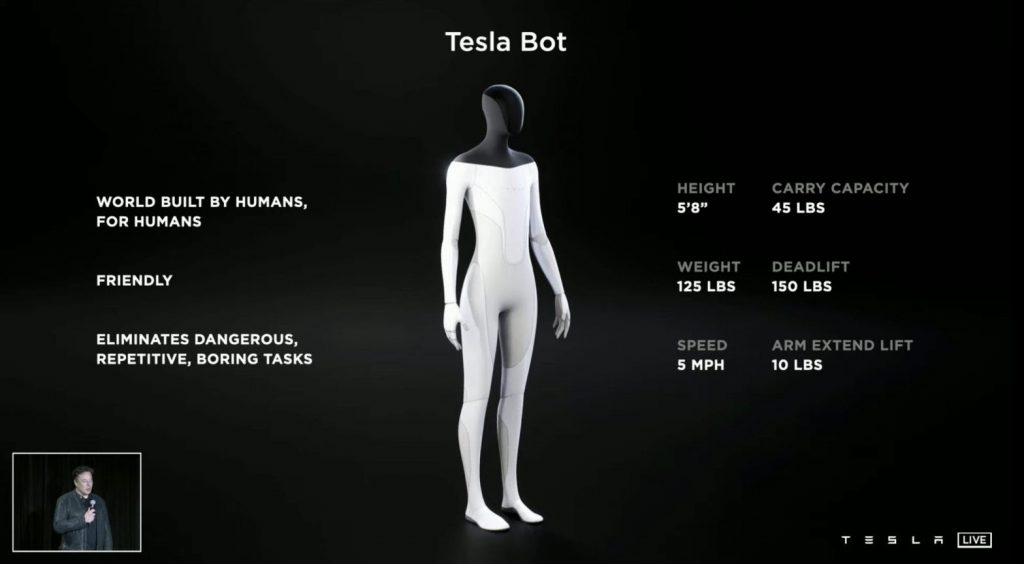 Optimus, el robot humanoide de Tesla