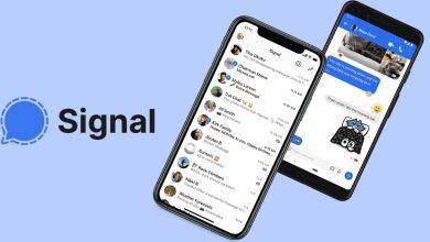 Señal de mensajería cifrada afectada por una interrupción